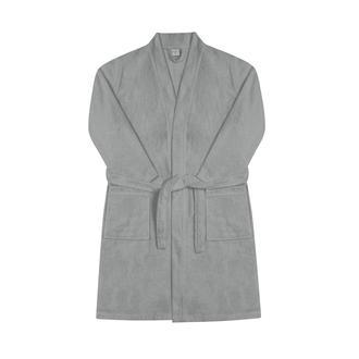 Nuvomon Erkek Kimono Bornoz - Antrasit - L / XL