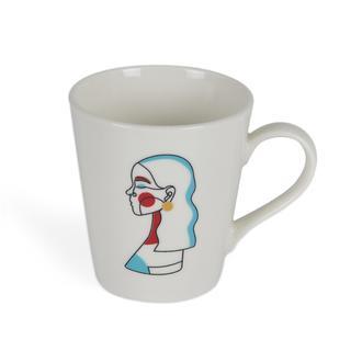 Tulu Porselen Arty1 Kupa-230 ml