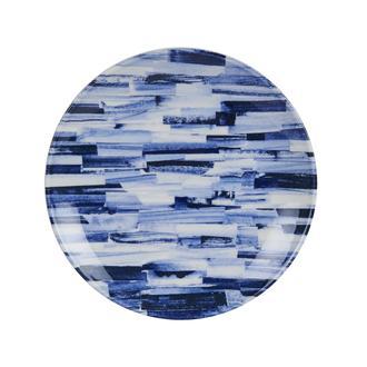 Tulu Porselen Blue Line Servis Tabağı-24 cm