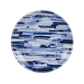 Tulu Porselen Blue Line Tatlı Tabağı - 15 cm