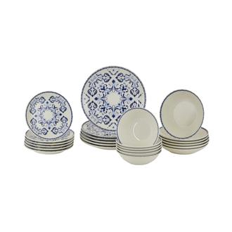 Tulu Porselen Monarca 24 Parça Yemek Takımı