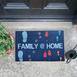 Giz Home Peppina Family Home Kapı Önü Paspası Paspası 40x60 cm
