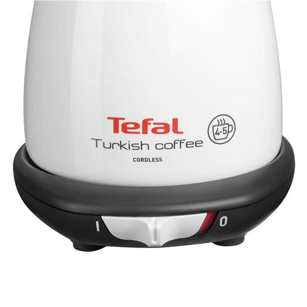 Tefal Turkish Coffee Click Elektrikli Cezve - Beyaz