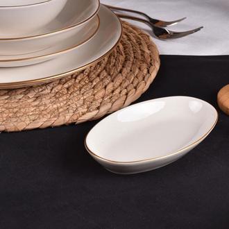Bambum Diva Elips Kayık Tabak - 15 cm