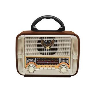 Bood Retro Dekoratif ve Kullanılabilir Radyo