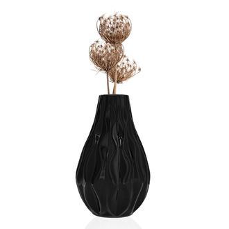 Ang Design Magnolia Vazo Siyah