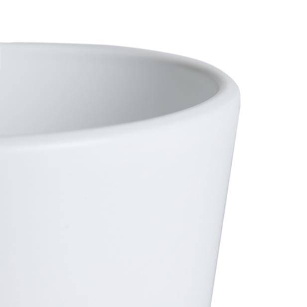 Viapot Paris Saksı - Beyaz - 1,2 lt