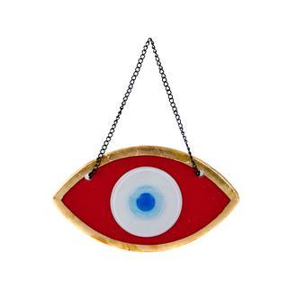 Q-Art Kırmızı Göz Nazarlık - 15 cm