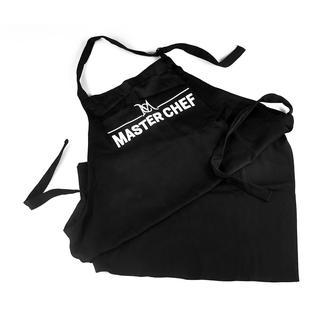 Master Chef Mutfak Önlüğü - Siyah