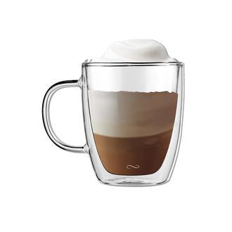 Nuo Enjoy Life Çift Camlı Cappucino Bardağı - 350 ml