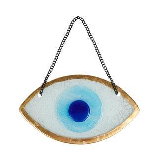 Q-Art Beyaz Göz Nazarlık - 15 cm