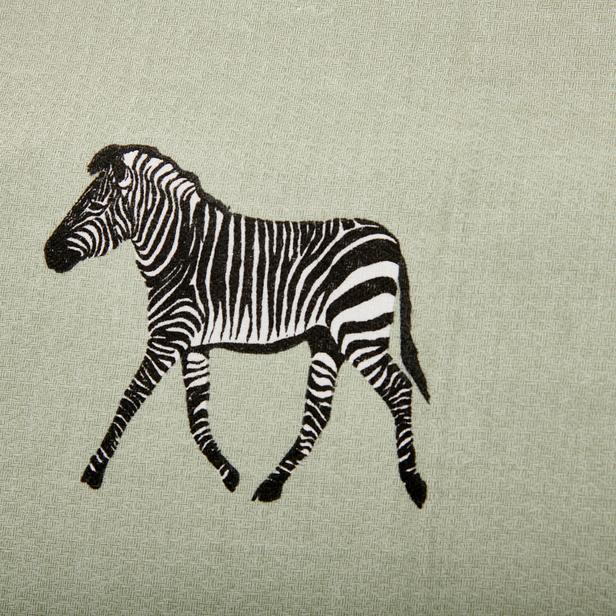 Nuvomon Zebra Tek Kişilik Pike