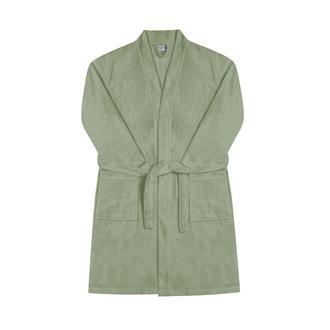 Nuvomon Kadın Kimono Bornoz - Yeşil - S/M
