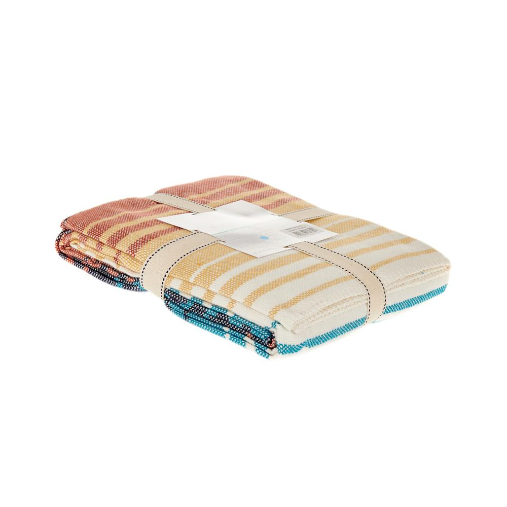 Nuvomon Striped Betty Tek Kişilik Skoç Pike - Renkli
