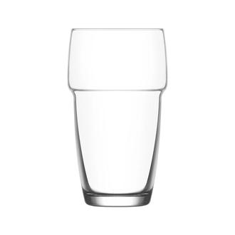 Lav Galata 3'lü Bardak - Şeffaf - 340 ml