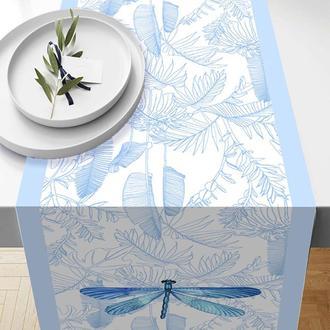 Missia Home Bahar Tropik Mavi Serisi Runner - 37x140 cm