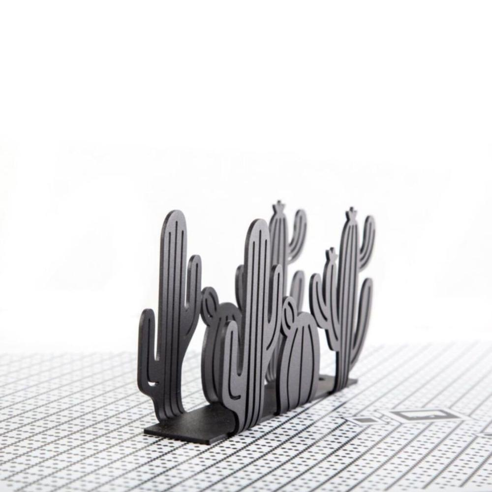 M&C Concept Kaktüs Metal Peçetelik - Siyah