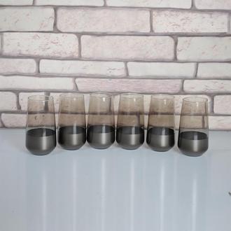 Öcl Füme Kobalt 6'lı Bardak - 470 ml