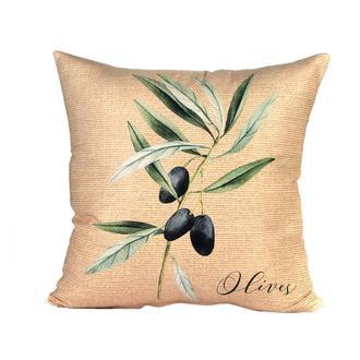 Missia Home Olive Serisi Zeytin Desenli Kırlent
