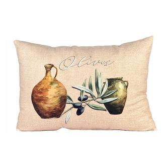 Missia Home Olive Serisi Testi Desenli Kırlent