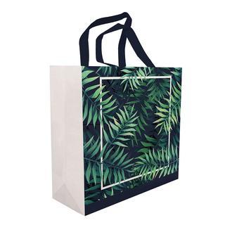 Magic Saver Bag Yaprak Desen Alışveriş Çantası