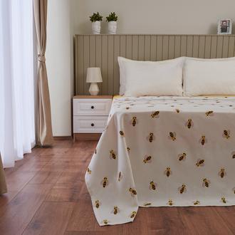 Nuvomon Aryen Çift Kişilik Pike - Beyaz - 200x220 cm