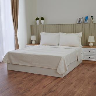 Nuvomon Lady Çift Kişilik Battaniye - Beyaz - 200x220 cm