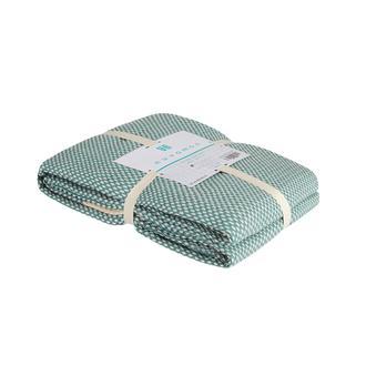 Nuvomon Harriet Çift Kişilik Yatak Örtüsü - Mint - 220x235 cm