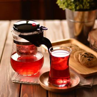 Taşev Vogue Bitki Çayı Demliği - 500 ml