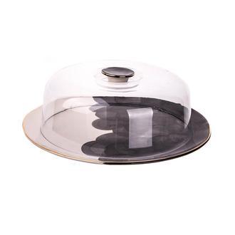 Marianna Bulut Kek Fanusu - Siyah - 34 cm