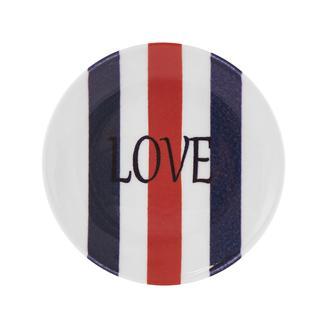 Tulu Porselen Love Tatlı Tabağı - 15 cm