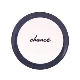 Tulu Porselen Chance Tatlı Tabağı - 19 cm