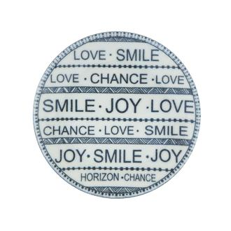 Tulu Porselen Smile Tatlı Tabağı - 15 cm