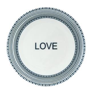 Tulu Porselen Love Servis Tabağı - 24 cm