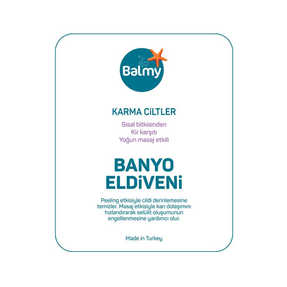 Balmy Sisal Havlu Banyo Eldiveni