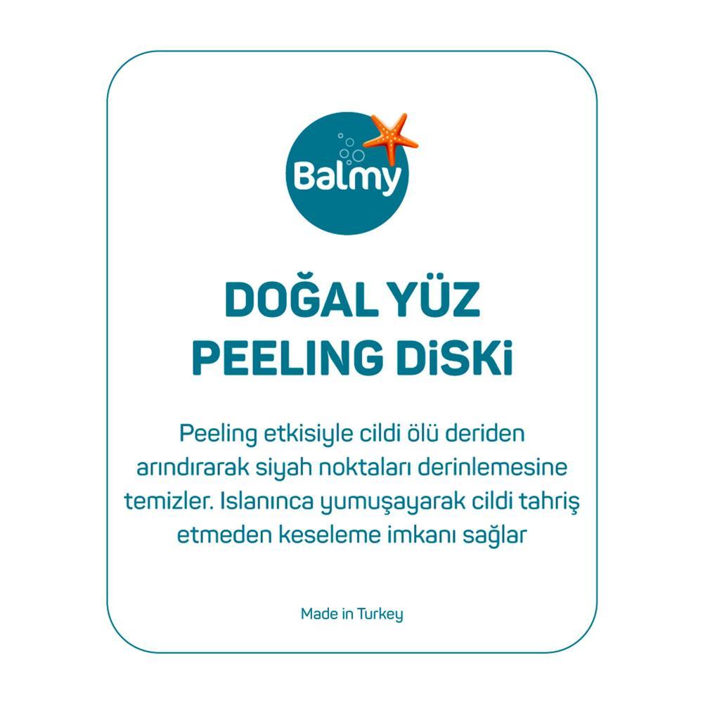 Balmy Loofah 3'lü Yüz Peeling Diski