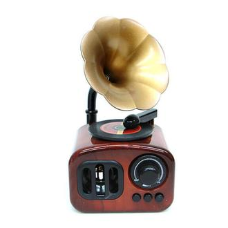 MNK Home Gramofone Kurmalı Müzik Kutusu
