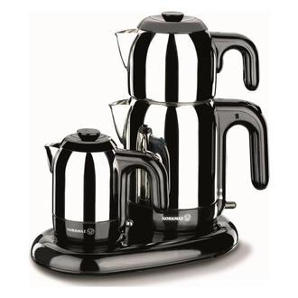 Korkmaz A353 Mia Çay ve Kahve Makinesi - Inox / Siyah - 1600 Watt